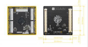 Le module SiBrain accepte tous les microcontroleurs