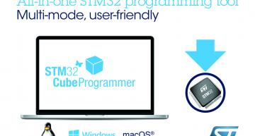 STMicroelectronics has launched the latest version of STM32CubeProgrammer, which gathers the capabilities of multiple device programmers into a single universal tool.
