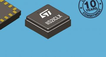 STMicroelectronics' IIS2ICLX is a high-accuracy, low-power, 2-axis digital inclinometer that can be used in a wide variety of applications.