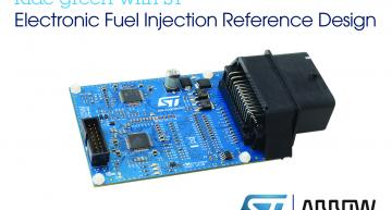 STMicroelectronics and Arrow Electronics have launched an ECU reference design for electronic fuel-injection (EFI) to assist engineers to remain compliant with new emission regulations.
