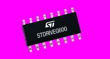 600V GaN gate driver for industrial and home automation
