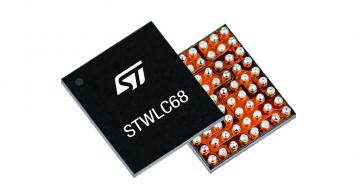 The STWLC68 wireless charging chipset from STMicroelectronics is Qi compliant for systems from 20W down t