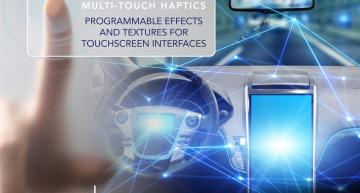 Tanvas has annouced a piezo-free, non-vibrating, multi-touchscreen display that can produce programmable textures and haptic effects on the screen's glass surface.