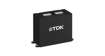 TDK's B25640 HF power film capacitor range uses a new dielectric material and is optimised for designs using SiC semiconductors.