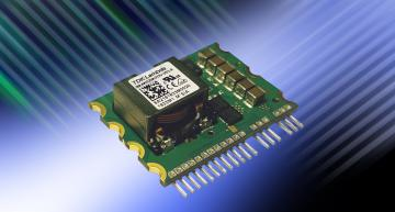 The TDK-Lambda i64A 250W DC-DC converter cuts board area by 60 percent using a single in line package (SIP)