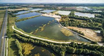 RES annonce l'obtention du permis de construire du plus grand parc solaire flottant en France