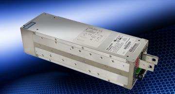 The TDK-Lambda TPS4000-24 industrial power supply is rated at up to 4,080W at 24V and operates automatically from 400, 440, and 480Vac nominal inputs without wiring changes or step-down transformers.