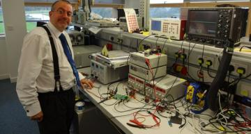 Andy Skinner, director of the TDK Advanced Technology Centre at the Bristol and Bath Science Park