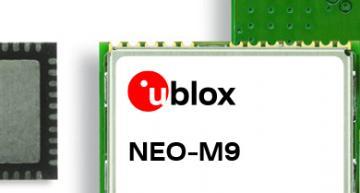 u-blox has announced an ultra-robust meter-level M9 global positioning technology platform, for demanding applications.