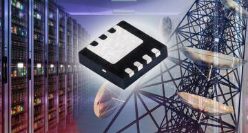 Vishay's SiSS22DN 60V MOSFET has on-resistance down to 4 mΩ at 10 V in a thermally enhanced 3.3 mm by 3.3 mm PowerPAK 1212-8S package