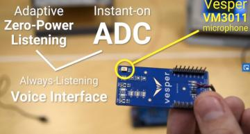 Adaptive MEMS microphone stays asleep longer to save power