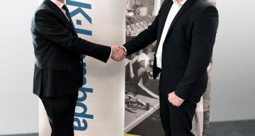 Left: Sean Evans TDK-Lambda and (right) Lee Thomas UK Sales Manager Yokogawa UK Ltd