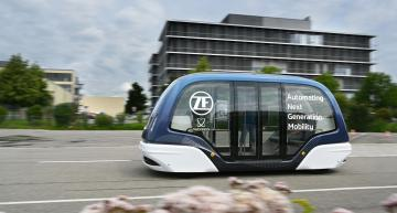 ZF, Oxbotica team for driverless shuttles