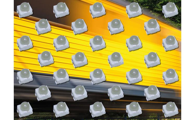 30° beam angle SMD LEDs emit light further for high-intensity applications