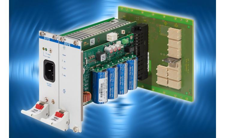Board mounted uninterruptible power supply for racks