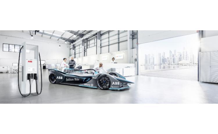 ABB to supply Formula E charging technology