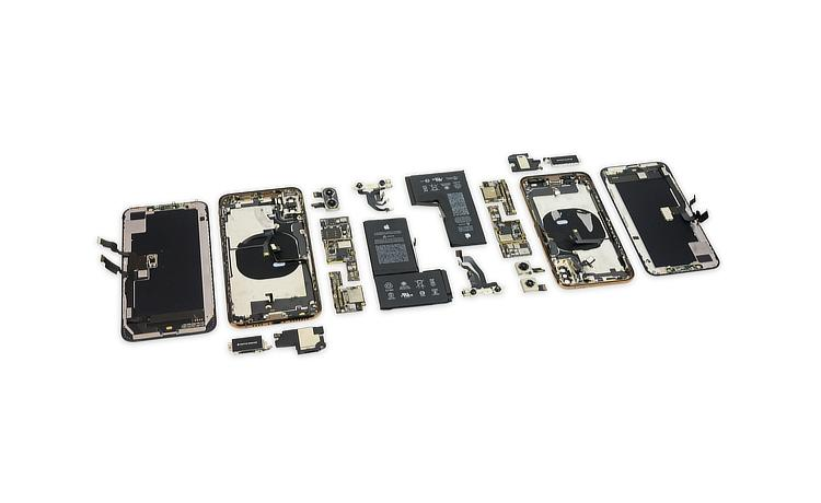 iPhone XS teardown shows new battery design