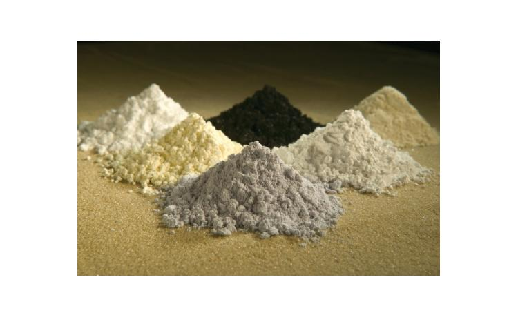 Sourcing rare earth elements from rock waste