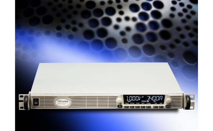 1U programmable power supply reaches 3.4kW