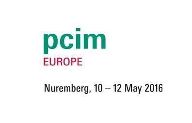 PCIM Europe 2016 – Nuremberg, May 10-12 2016