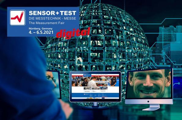 SENSOR+TEST 2021 digital 4th - 6th May