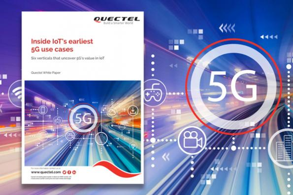 Inside IoT's earliest 5G use cases
