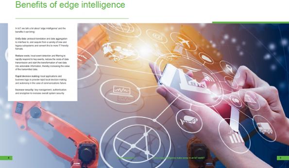 Does Edge Intelligence make sense in an IoT world?