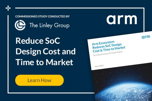 Arm Ecosystem Reduces SoC Design Cost and Time to Market
