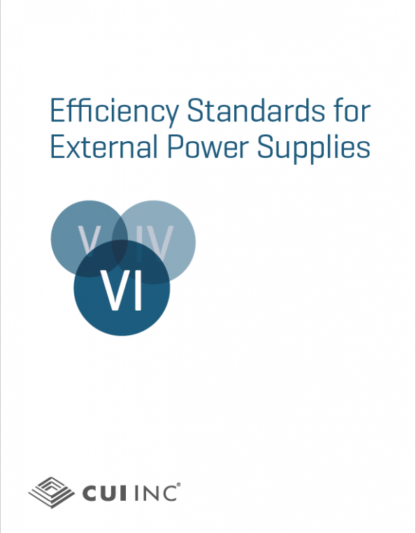 CUI: How to Stay Ahead of Efficiency Regulations for Power Adapters
