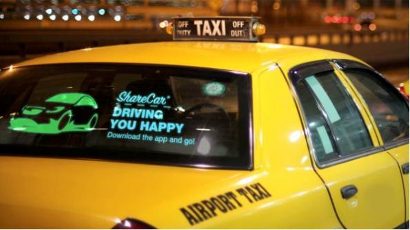Des vitres écran pour améliorer la communication entre le véhicule et les piétons
