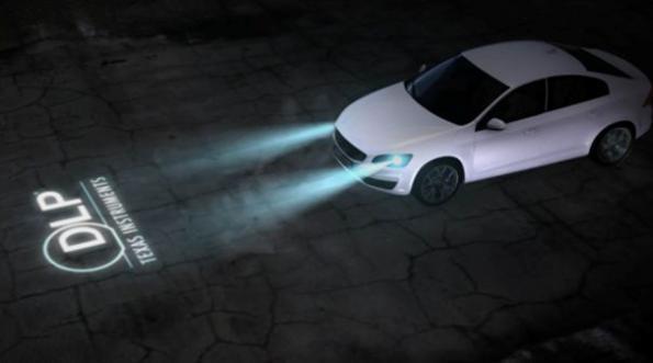Quelle résolution est suffisante pour permettre aux phares de voiture de projeter des symboles ?