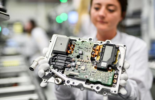 Continental, power electronics, production, China