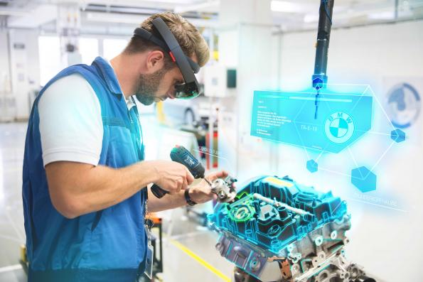 BMW relies on AR and VR in production and training