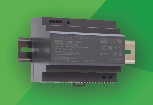 150W stepped housing DIN rail supply in distribution
