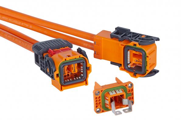 HV connector system is designed for hybrid and electric drives