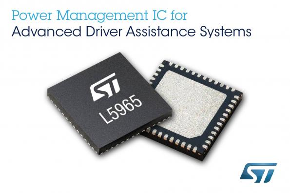 Programmable PMS saves space, improves reliability of driver assistance systems