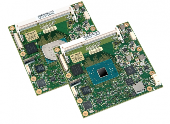 AMD R1000-powered COM Express modules
