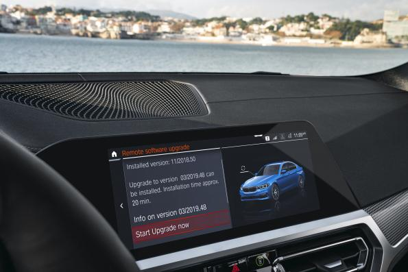 BMW makes car software updateable over the air