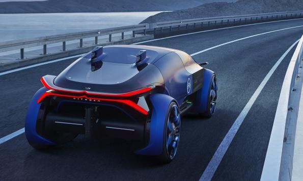 Citroen's futuristic concept car makes ample use of AI