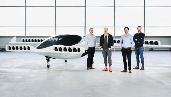 Lillium e-plane completes maiden flight