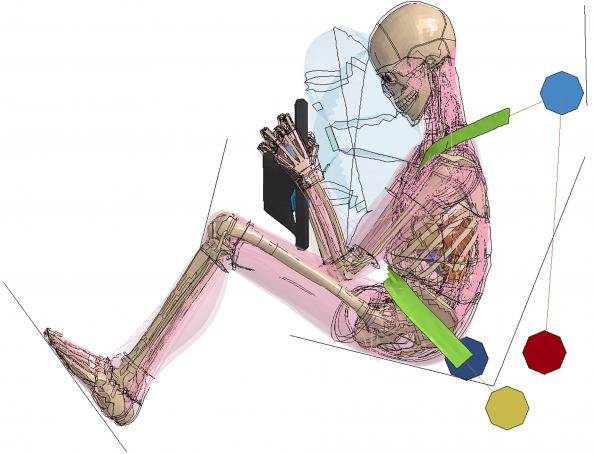 Refined virtual human models complement crash test dummies