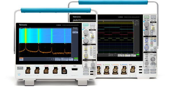 Large display, large bandwidth: two new oscilloscopes from