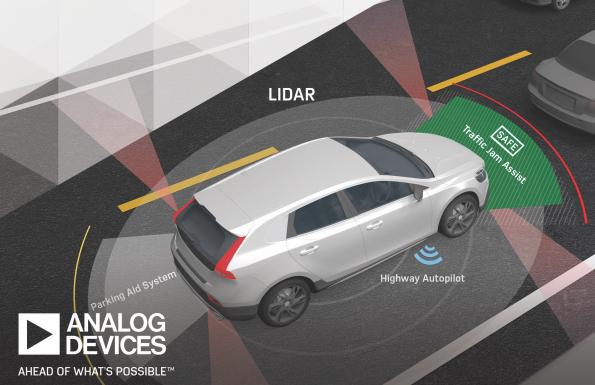 Analog Devices, First Sensor join forces for lidar development
