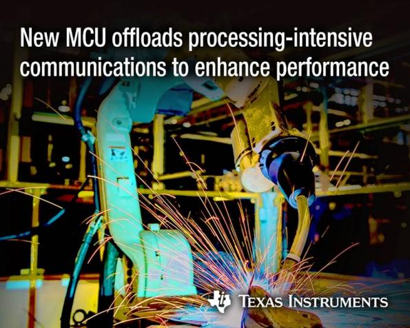TI provides connectivity to its C2000 MCUs