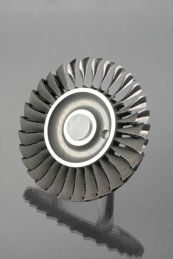 Additive manufacturing allows design of environment-friendly aircraft engines