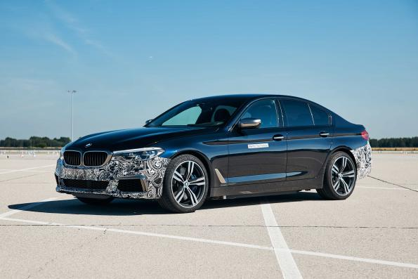 Exploring the limits of electric drives in BMW test car
