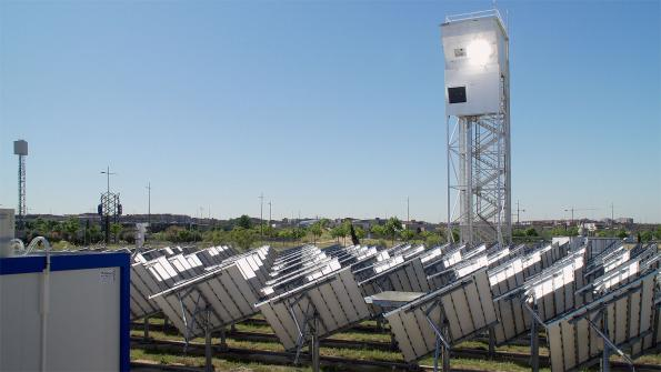 Solar plant produces kerosene from sunlight, water and CO2