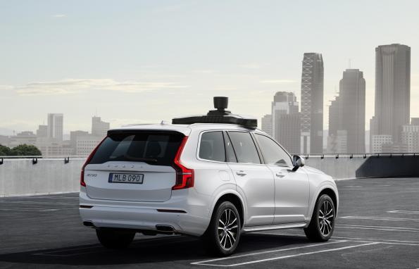 Volvo introducing basis car for Uber's self-driving vehicles