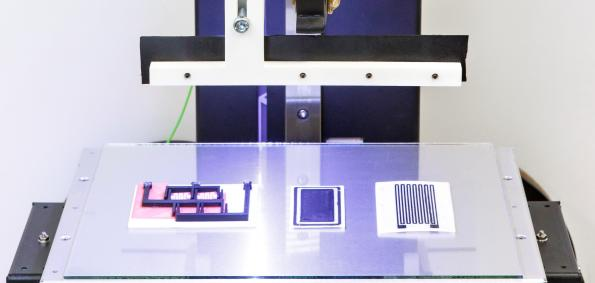 3D printing integrates actuators and sensors into complex components