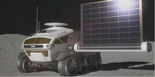 Toyota details plans for manned moon rover